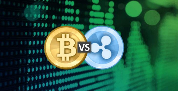 bitcoin v ripple